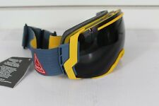 2016 Smith I/O7 Ski Snowboard Goggles IO7 Mustard Conditions Blackout Lens