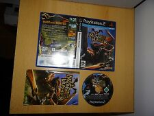 MONSTER HUNTER ON PLAYSTATION 2 - PS2 PAL FREE UK POST