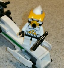 Lego Star Wars Clone Marshall Cody in Scout Armor and BARC Speeder Set