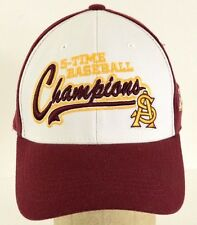 5-time Baseball Champions ASU Arizona State University Legends Hat Cap One Size
