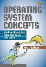 Operating System Concepts by Abraham Silberschatz 9th Ed Hardcover [US Verion]