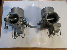 Vintage Honda CB450 CL450 Left & Right Carburetor Keihin 723A (New Kits Put in)