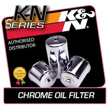 KN-204C K&N CHROME OIL FILTER KAWASAKI ZX10R NINJA 1000 2004-2006