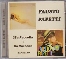 Fausto Papetti ‎– 28a Raccolta + 8a Raccolta JEWEL CASE CD