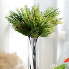 40cm Artificial Evergreen Pine Plant Tree Branch in Wedding Home Party Decor New