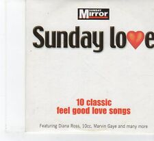 (FR127) Sunday Mirror Presents Sunday Love -10 Classic Feel Good Love S- 2004 CD