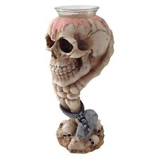 Light Headed Skull Candle Holder By Nemesis Now