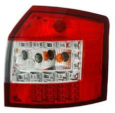 Back Rear Tail Lights For Audi A4 B6 Avant 09/01-10/04 With LED In Red-Clear