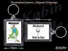 Golf Golfista Llavero Personalizado Cumpleaños Regalo de Navidad Stocking Relleno