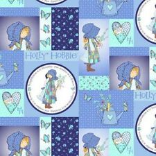 SPX Holly Hobbie Blue Girl 25357 Sampler Cotton Fabric