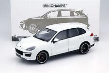 Porsche Cayenne Turbo S Baujahr 2014 weiß 1:18 Minichamps