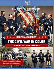 Blood and Glory: The Civil War in Color (Blu-ray Disc, 2015, 2-Disc Set)