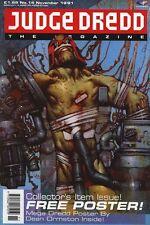 Judge Dredd Megazine (Vol. 1) No. 14 Nov 1991 Al's Baby, Armitage,  Fine