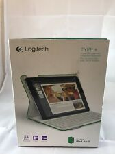 Logitech Type + Case For iPad Air 2 Green