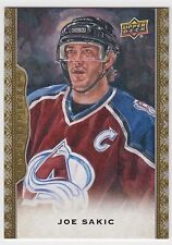 JOE SAKIC 2014-15 Upper Deck Masterpieces Short Print SP #111 Avalanche