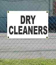 2x3 DRY CLEANERS Black & White Banner Sign NEW Discount Size & Price FREE SHIP