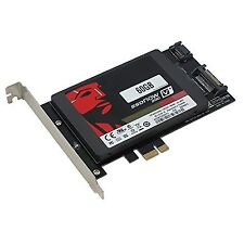SEDNA - PCI Express (PCIe) SATA III (6G) SSD Adapter with 1 SATA III port (SS...