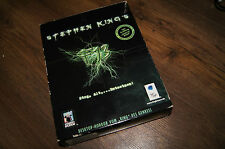 Stephen King's F13 horror pc game disc cd-rom complete deutsch edition 1999