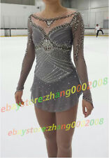 Ice skating dress.New 2017 Competition Figure Skating /Baton Twirling Costume