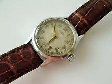 VINTAGE MID SIZED ROLEX TUDOR WRIST WATCH WORKING / SOLD AS SPARES - REPAIRS