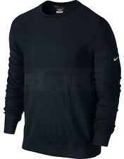 $140 Nike Tiger Woods TW Collection Engineered Sweater Black 620148 Medium M