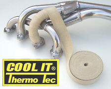 Exhaust Muffler Insulating Wrap For All Bikes Cool It Thermo Tec (OFF WHITE)....