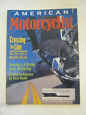 June 1997 American Motorcyclist Magazine, Yamaha's 4-Stroke Goes Racing  (BD-28)