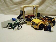 Lego City Public Transportation Bus Stop + Car Mint 60097/8404/60026/7641 READ