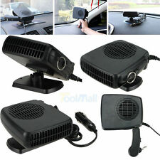 Portable Car Vehicle Ceramic Heating Heater Fan Defroster Demister DC 12V FE