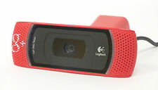 BRAND NEW Rare LOGITECH for Business RED B910 HD Webcam Google+ - HVR H64