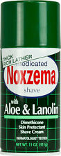 Noxzema Shaving Medicated Shave with Aloe and Lanolin - 11 Oz