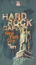 Entertainment Memorabilia HARD ROCK CAFE Cap Sleeve Tunic Shirt sz S: NY City