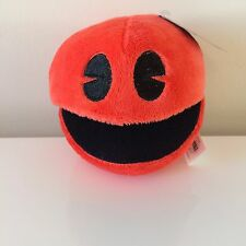 Pac-Man Plush 5 '' . Licensed. Brand New Red Pac-Man. Stuffed Soft Toy. USA