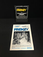 Frenzy (ColecoVision and Adam) - CARTRIDGE AND MANUAL - JNL8