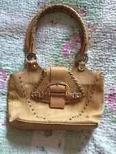 RIPANI Italian Leather Handbag. Tan/ Camel Colour VGC