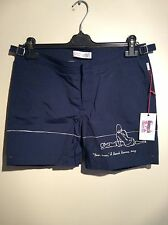 mens Orlebar brown Uk Size 32 Bulldog Paris Revie swimming shorts rrp £225