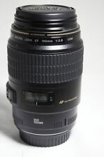 USM Canon EF 100mm F 2.8 Macro Lente de 1.1.mm 5D 450D 1100D 550D 7D 1D 650D 600D