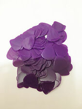 100X PLAIN PURPLE MEDIUM THICKNESS 0.71MM plectrum guitar picks blanks NYLON