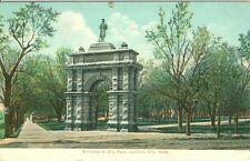 Junction City, KS Entrance to City Park 1910