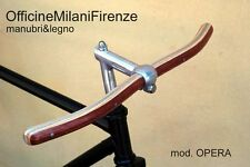 MANUBRIO IN LEGNO Officine Milani Firenze Vintage Single Speed Wooden Handlebar