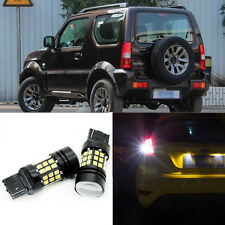 Superb Error Free 5050SMD 360 Degree LED Backup Reverse Bulbs For Suzuki Jimny