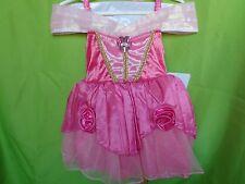 DISNEY BABY STORE SLEEPING BEAUTY PRINCESS AURORA COSTUME DRESS 12-18MO NWT