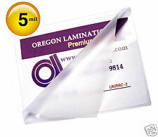200 Letter size 5 Mil Hot Laminating Pouches 9 x 11-1/2 Clear