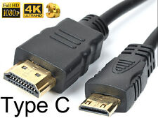 Mini HDMI A/V TV Video Cable For Sony CyberShot DSC-WX7 DSC-HX100 V DSC-WX70 V