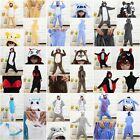 Hot New Unisex Adult Costume Pajamas Kigurumi Animal Cosplay Onesie Sleepwear