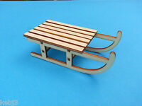 Mini Wooden Sleigh Christmas/Hanging Decorations Birdhouses & Other CHOICES etc