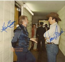 KENNY ROGERS & JOHNNY BENCH Signed Original Photo 1979  KOA Authenticated
