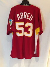 World Baseball Classic throwback Venezuela Bobby Abreu 2006 replica jersey-XL