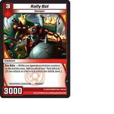 Kaijudo 3X RALLY BOT Common #104/160 13GAU (Playset) Quest for Gauntlet 2014