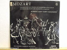 Robert and Gaby Casadesus * Mozart * Concerto for Two pianoforti * George Szell *